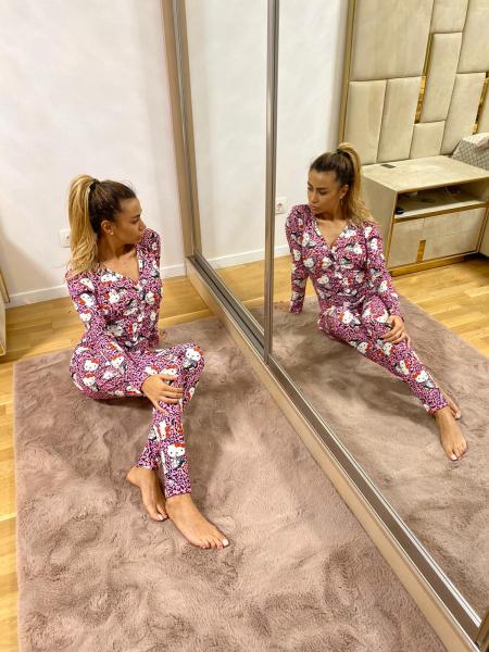 Salopeta Pijama HK Purple 0