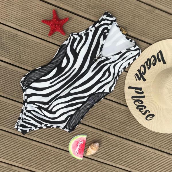 Body Zebra Print Mesh [0]