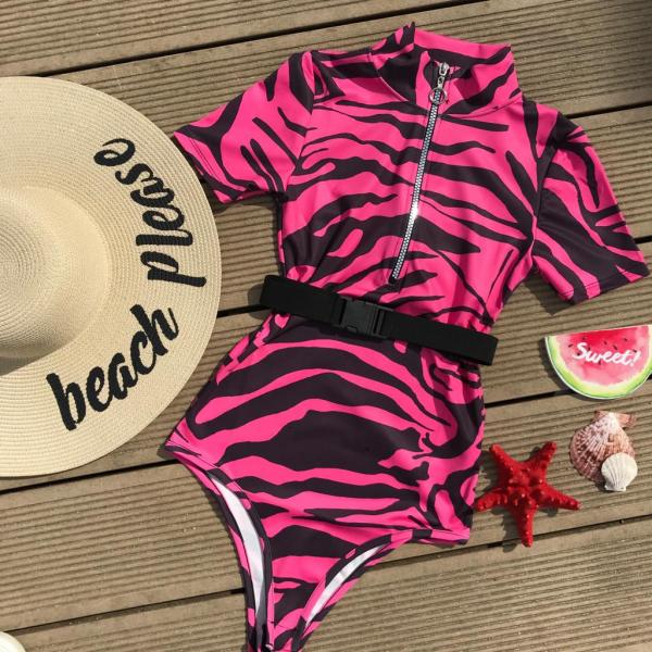 Body Zebra Print Pink 0