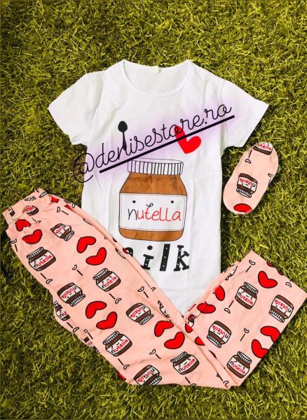 Pijama Nutella(tricou mic defect) 0