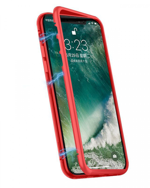 Husa 360 Inchidere Magnetica Red Samsung Galaxy S9 0