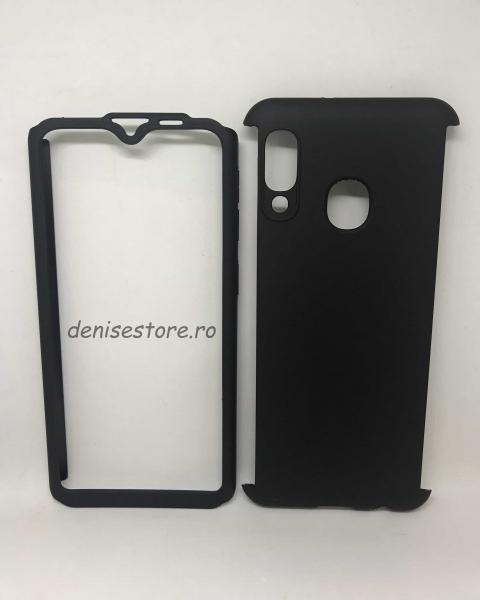 Husa 360 Plastic Negru Samsung Galaxy A20e 0
