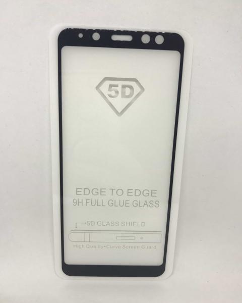 Folie de sticla 5D Black Samsung Galaxy A8 2018 0
