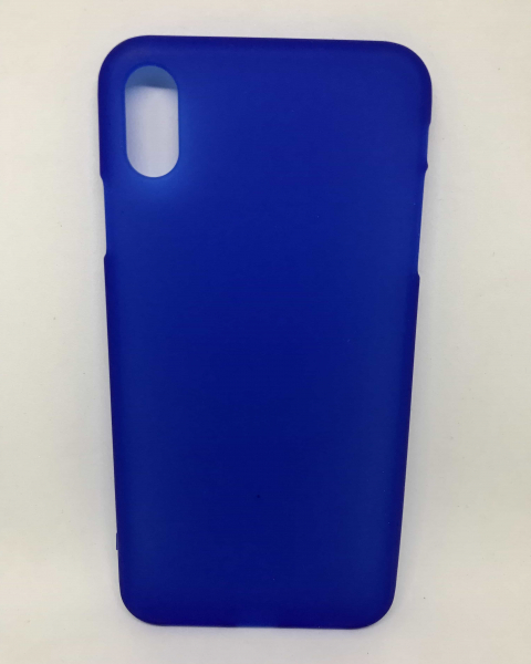 Husa Simple Blue iPhone XS Max 0