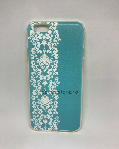 Husa Henna Blue&White iPhone 6/6s 0