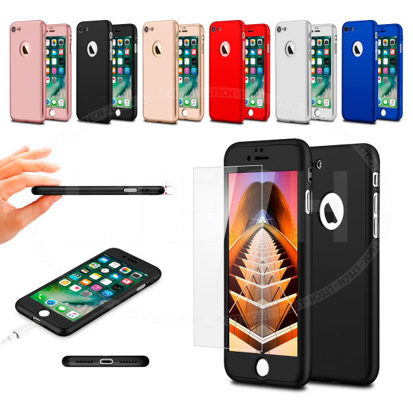 Husa 360 plastic alb iPhone 5/5s/SE 1