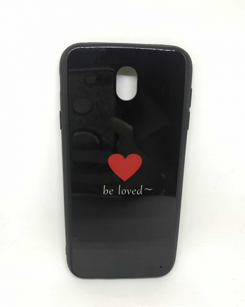 Husa Be Loved Black Samsung Galaxy J7 2017 0