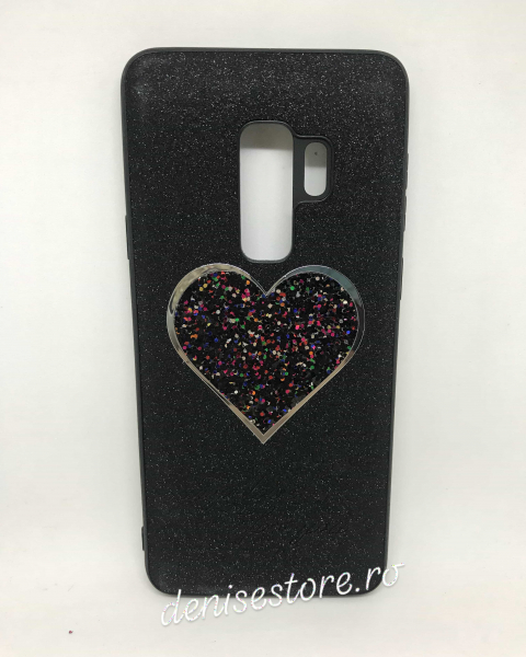 Husa Black Heart Samsung Galaxy S9 Plus 0