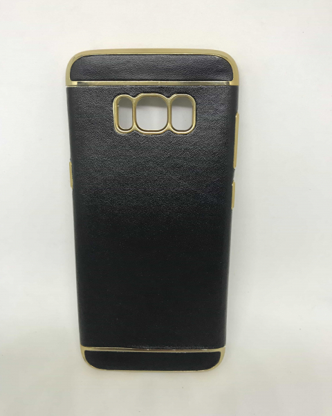 Husa Black Leather Samsung Galaxy S8 [0]