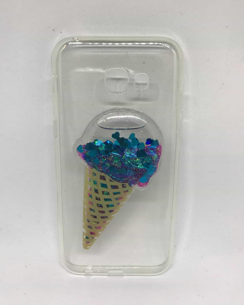 Husa Lichid Blue Ice Cream Samsung Galaxy A5 2017 0