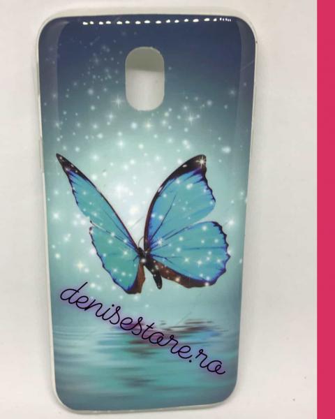 Husa Blue Butterfly Samsung Galaxy J5 2017 0