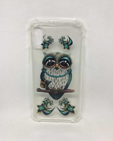 Husa Owl Turqoise iPhone X / XS 0