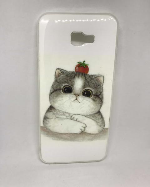 Husa Cat Tomato Samsung Galaxy J4 Plus 2018 0