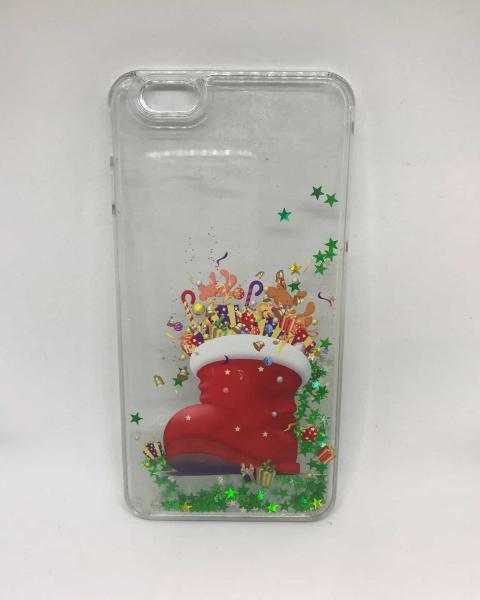 Husa Christmas Boot iPhone 6 Plus/ 6s Plus 0