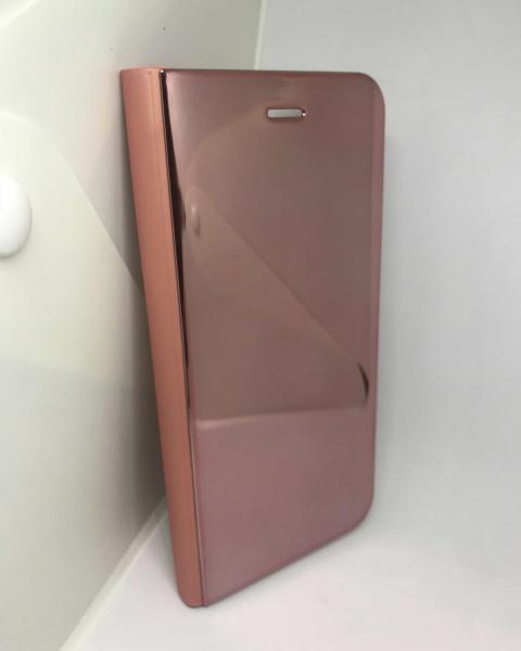 Husa Flip Clear View Mirror Rose iPhone 7 Plus / iPhone 8 Plus 1