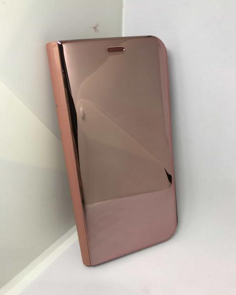 Husa Flip Clear View Mirror Rose iPhone X / XS 1