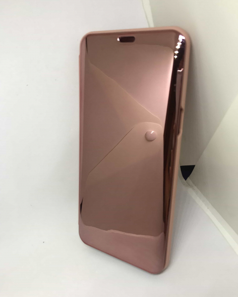 Husa Flip Clear View Mirror Rose Samsung Galaxy S8 Plus [1]