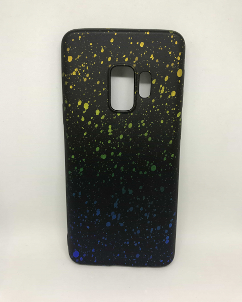 Husa Splash Yellow & Blue Samsung Galaxy S9 0