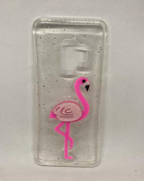 Husa Flamingo Roz Samsung Galaxy S9 0
