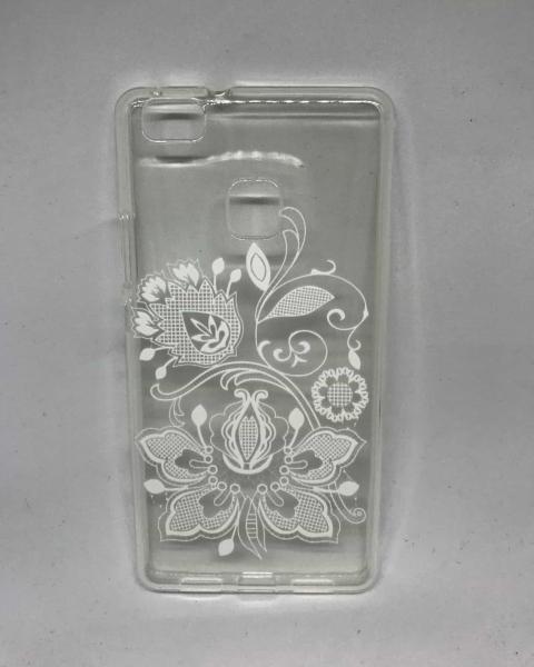 Husa Floral White Huawei P9 Lite 2016 0