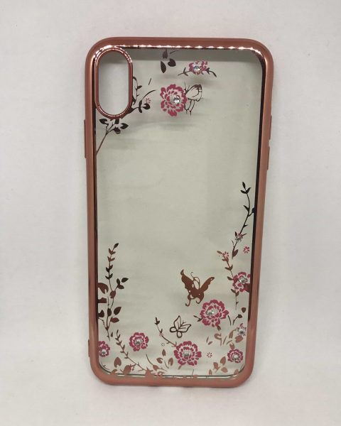 Husa Flowerly Rose iPhone XS Max 0