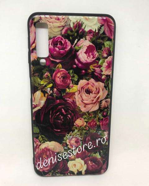 Husa Flowers Samsung Galaxy A7 2018 0