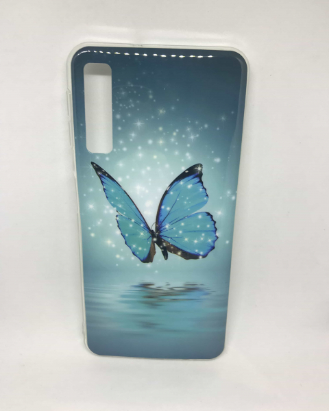 Husa Butterfly Samsung Galaxy A7 2018 0