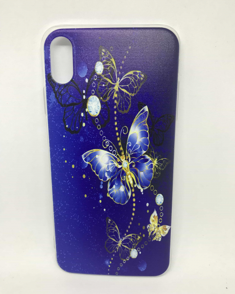 Husa Blue Butterfly iPhone XS Max 0