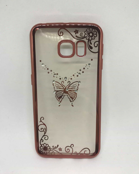 Husa Butterfly Rose Samsung Galaxy S6 Edge 0