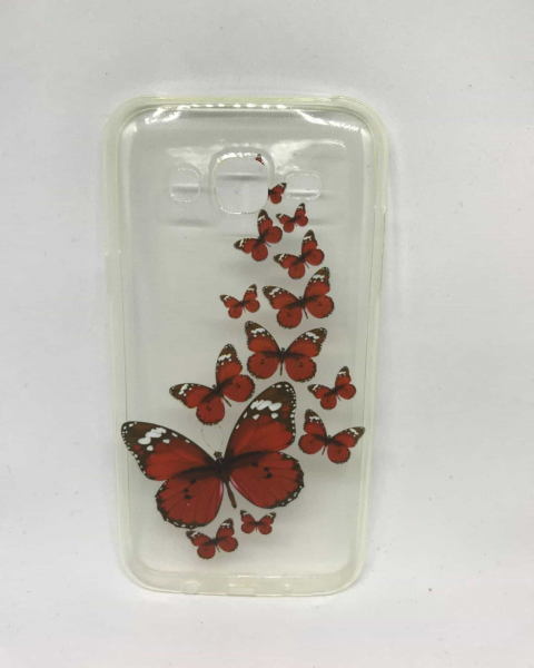 Husa Red Butterflies Samsung Galaxy J5 2015 0