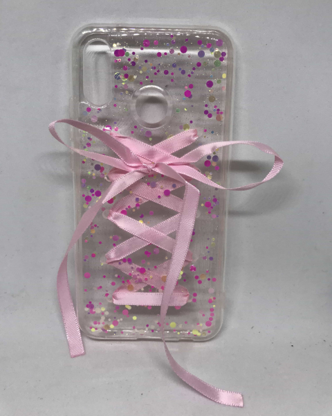 Husa Pink Bow Huawei P20 Lite 0