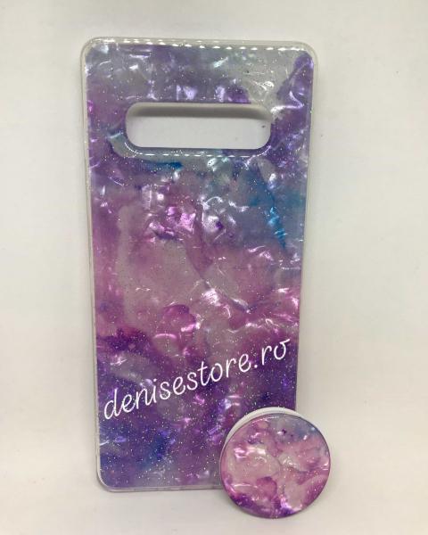 Husa + Phone Holder Galaxy Samsung Galaxy S10 Plus 0