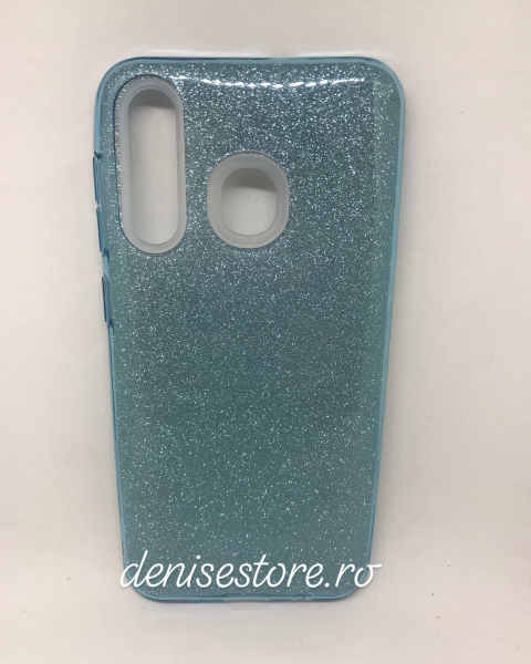 Husa Glitter Blue Samsung Galaxy A20 [0]