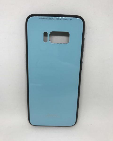 Husa Glass Case Blue Samsung Galaxy S8 0