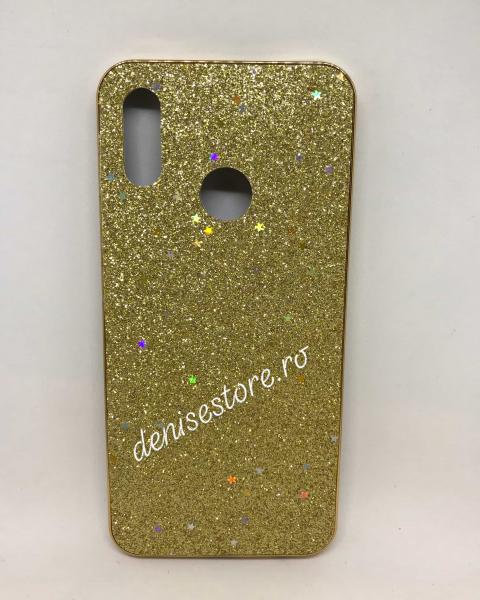 Husa Glitter Gold Stars Huawei P Smart 2019 [0]