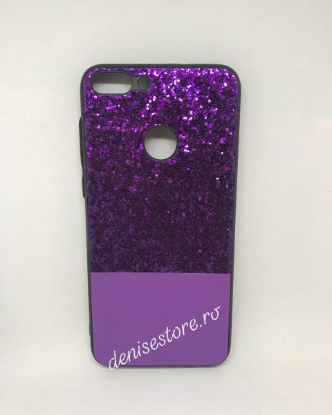 Husa Glitter Purple Huawei P Smart 0