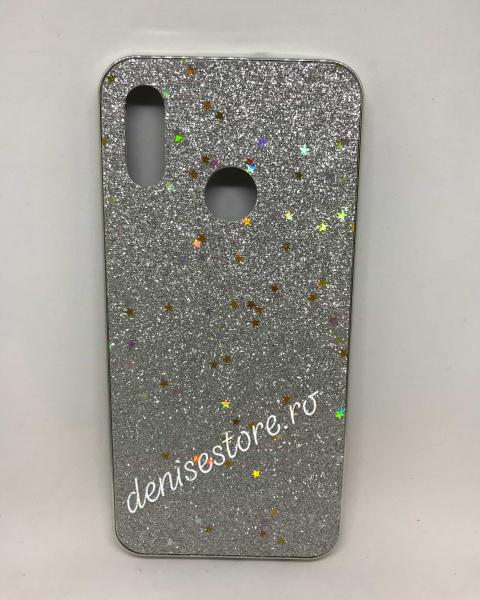 Husa Glitter Silver Stars Huawei P Smart 2019 0