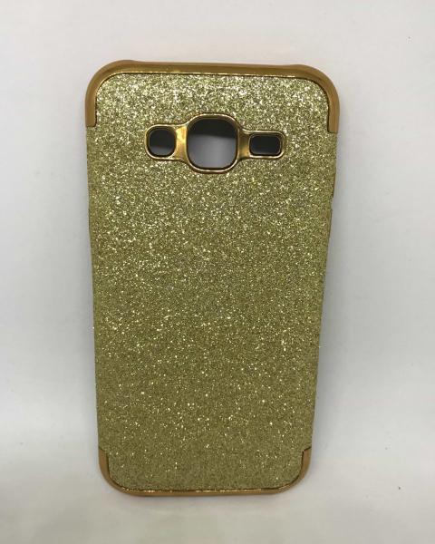 Husa Glitter Gold Samsung Galaxy J5 2015 0
