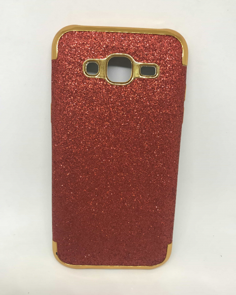 Husa Glitter Red Samsung Galaxy J5 2015 0