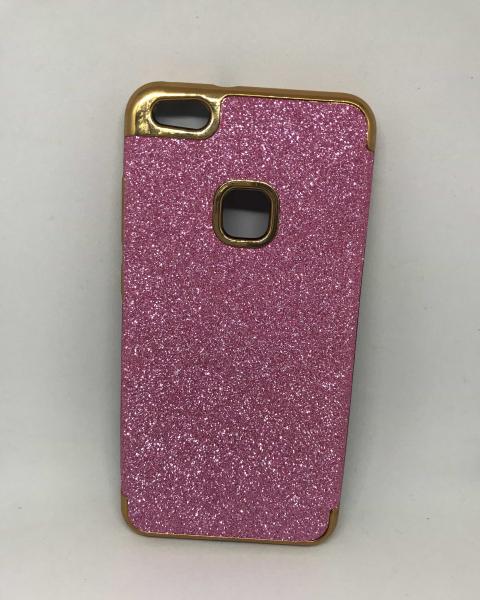 Husa Glitter Pink Huawei P10 Lite 0