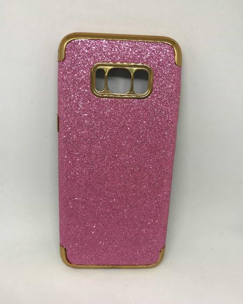 Husa Glitter Roz Samsung Galaxy S8 0