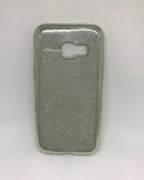 Husa Glitter Silver Samsung Galaxy A3 2017 0