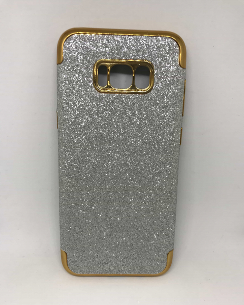 Husa Glitter Silver Samsung Galaxy S8 Plus 0