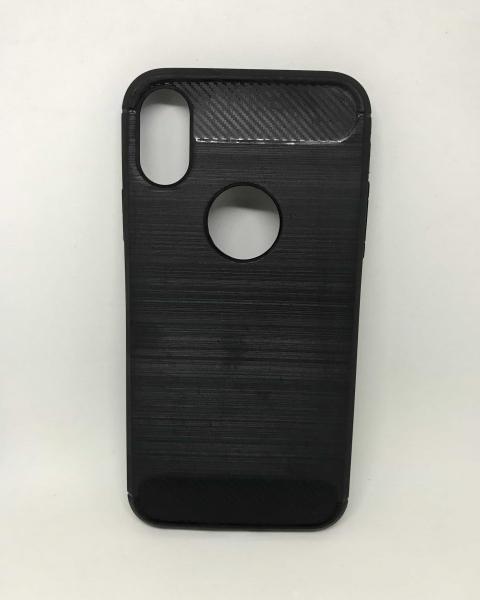 Husa Carbon Black iPhone X / XS 0