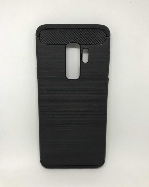 Husa Carbon Black Samsung Galaxy S9 Plus 0