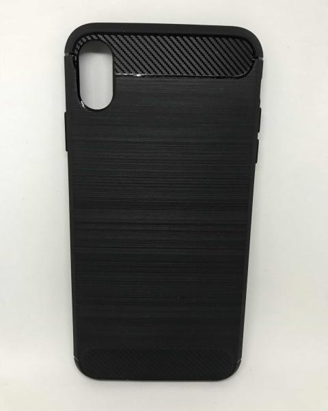 Husa Carbon Black iPhone XS Max 0