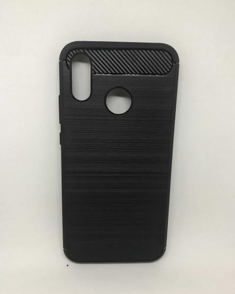 Husa Carbon Black Huawei P20 Lite [0]