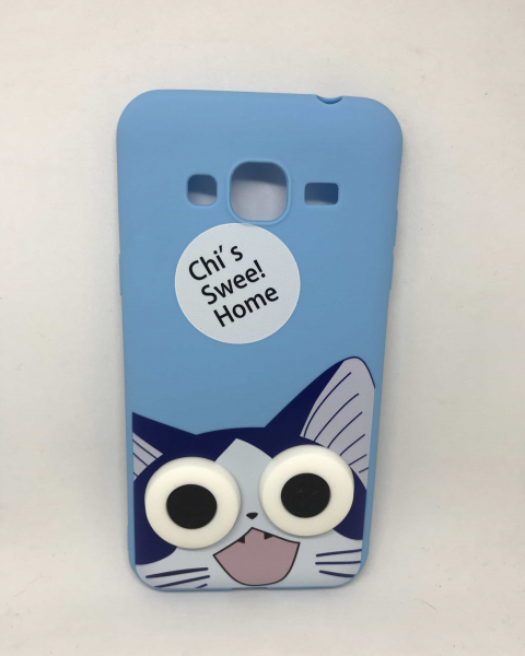 Husa Happy Cat Samsung Galaxy J3 2016 0