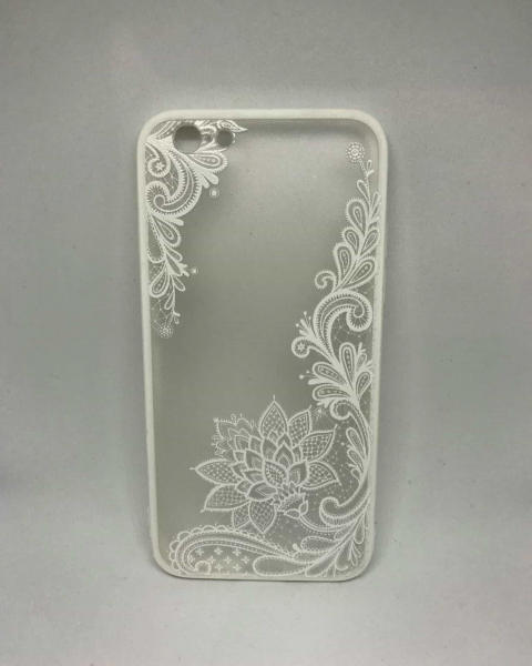 Husa Henna Flower White iPhone 6/6s 0