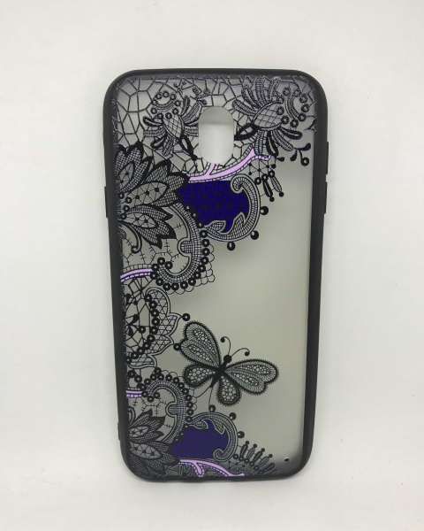 Husa Henna Black Purple Samsung Galaxy J7 2017 [0]